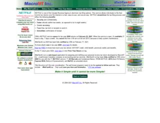 webtax4u.ca screenshot