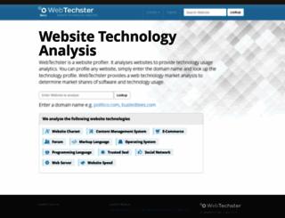 webtechster.com screenshot