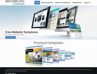 webtemplates-download.com screenshot