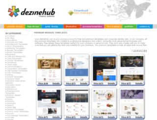 webtemplates.dezinehub.com screenshot