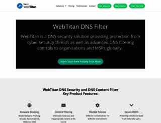 webtitan.com screenshot