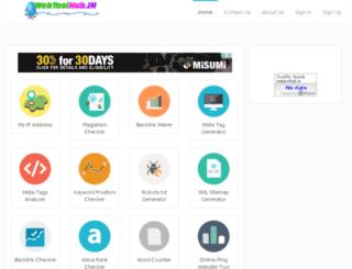 webtoolhub.in screenshot