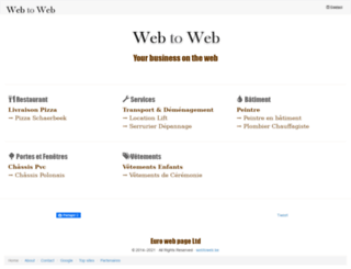 webtoweb.be screenshot