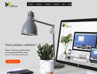 webtrakya.com screenshot