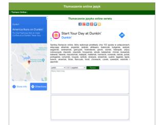 webtran.pl screenshot