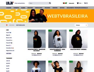 webtvbrasileira.com screenshot