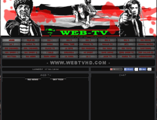 webtvhd.altervista.org screenshot