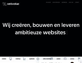 webvalue.nl screenshot
