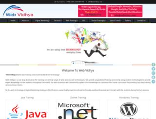 webvidhya.com screenshot