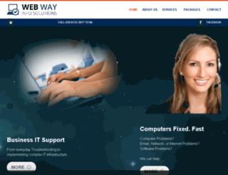 webwayinfosolutions.com screenshot