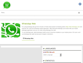 webwhatsup.com screenshot