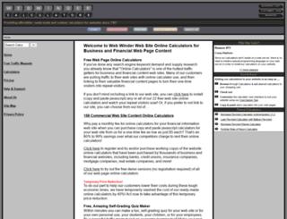 webwinder.com screenshot