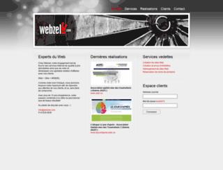 webzel.com screenshot