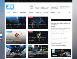 wecollectgames.com screenshot