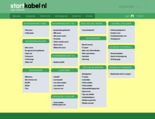 wedden.startkabel.nl screenshot