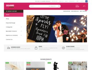 wedding-favours.co.za screenshot