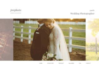 wedding-photographers-perth.com.au screenshot