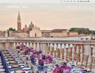 wedding-venice.net screenshot