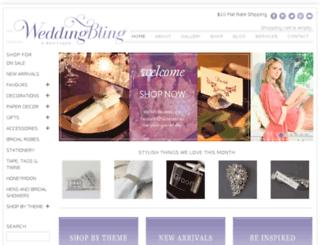 weddingbling.com.au screenshot