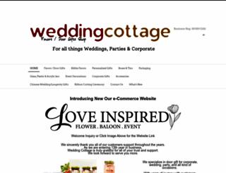 weddingcottageonline.com screenshot
