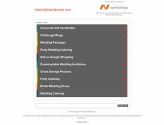 weddingfairphilippines.com screenshot