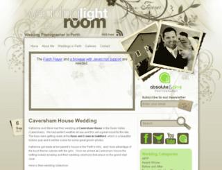 weddinglightroom.com.au screenshot