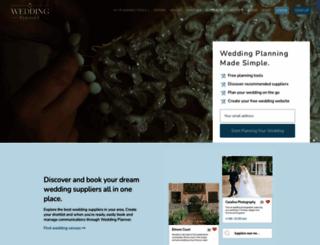 weddingplanner.co.uk screenshot