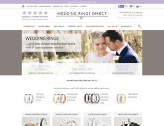 weddingrings-direct.com screenshot