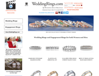 weddingrings.com screenshot