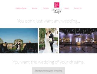 weddingsunique.com screenshot