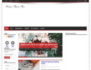 weddingtrendsmag.com screenshot