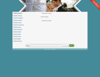 weddingvector.com screenshot
