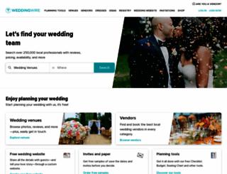 weddingwire.com screenshot