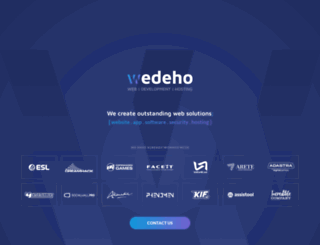 wedeho.be screenshot