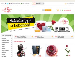 wedelivergifts.com screenshot