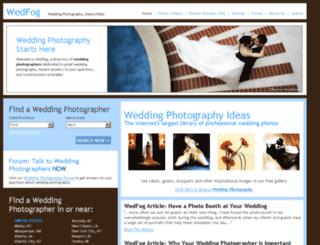wedfog.com screenshot