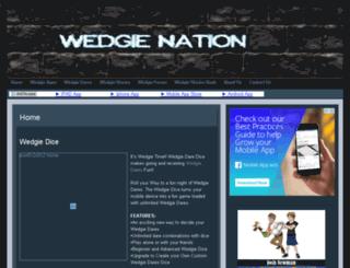 wedgienation.com screenshot