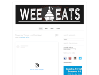 wee-eats.com screenshot