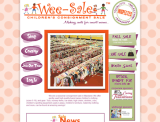 wee-sale.com screenshot