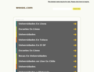 weeas.com screenshot