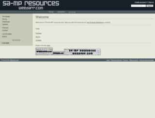 weedarr.wikidot.com screenshot