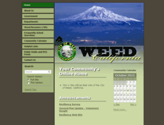 weedca.govoffice3.com screenshot