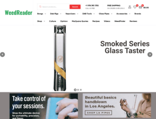 weedreader.com screenshot