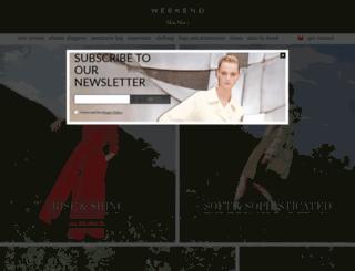 weekendmaxmara.com screenshot