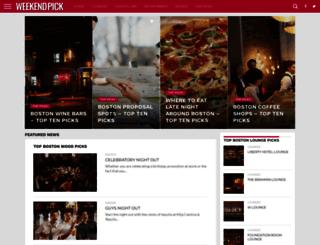weekendpick.com screenshot