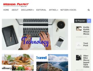 weekendprojectmagz.com screenshot