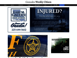 weeklycitizen.com screenshot
