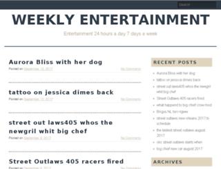 weeklyentertainment.net screenshot