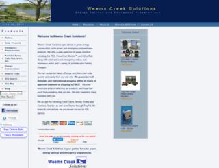 weemscreeksolutions.com screenshot