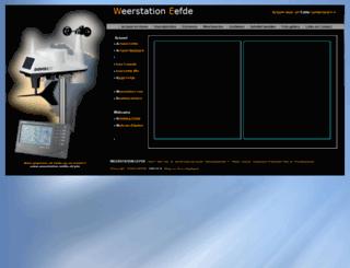 weerstation-eefde.nl screenshot